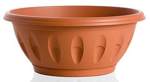 Bama Alba bols avec soucoupe,, 25 cm terre cuite