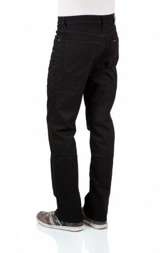 Lee Herren Jeans Normaler Bund L452JBCS BROOKLYN STRAIGHT CLEAN BLACK clean black (JBCS)