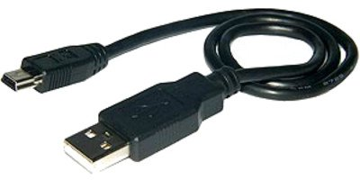 m-one 0.50cm Short Mini USB Data Sync Transfer Cable Lead