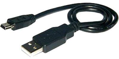 M-one 0.50cm court câble mini USB de synchronisation de données pour appareil photo numérique Canon Powershot Sd790IS, SD800IS, Sd850IS, SD870IS, Sd880is, SD890IS, SD900, SD950IS, SD960IS, SD970IS, Sd990is