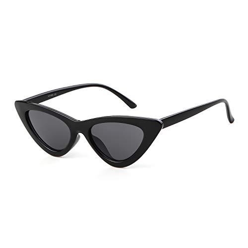 ADEWU Katzenaugen Sonnebrille Mode Sunglasses UV-Schutz für Damen Frauen