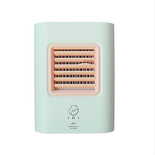 Beonzale USB-Ladeklimaanlage-Ventilator Mini-tragbarer Kühlschrank-Luftkühler Nano-Ventilator Kleiner Persönlicher Raum Verdunstungskühler