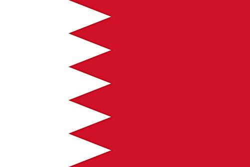 magFlags Flagge: XXS Bahrain | Querformat Fahne | 0.24m² | 40x60cm » Fahne 100% Made in Germany - Von Karte Bahrain