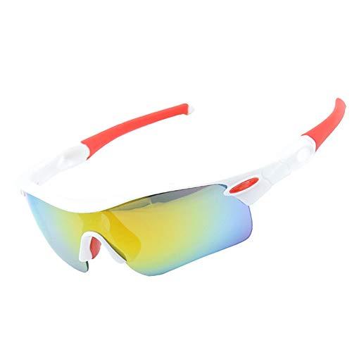 Sonnenbrillen Mode Polarized Five Suits Sportfischen Klettern Nachtsicht Laufen UV-Schutz Sport-Sonnenbrille zum Radfahren Laufbrille Tornado Radfahren Laufen Sport-Sonnenbrille ( Farbe : D )