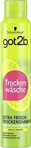 Schwarzkopf got2b Trockenshampoo extra frisch, 1er Pack (1 x 200 ml)
