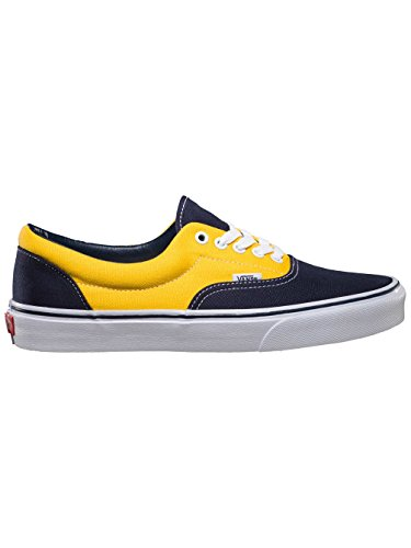 Vans U Era, Baskets mode mixte adulte golden coast dress blues/spectra yellow