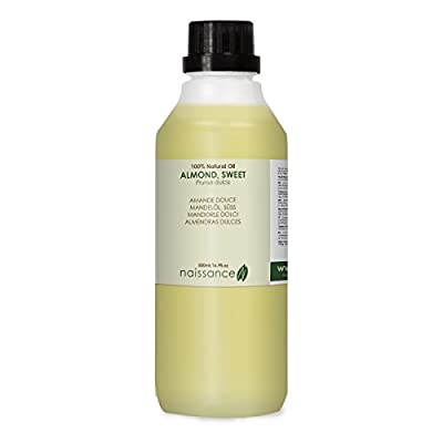 Naissance Sweet Almond Oil 500ml 100% Pure from Naissance