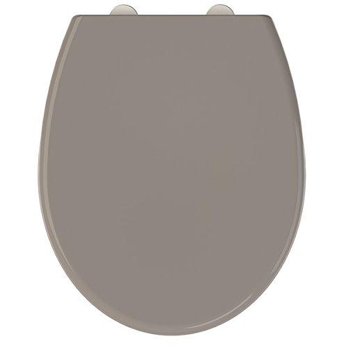 Allibert 818431WC-Sitz Bremsbeläge mit Verschluss Progressive taupe weiß