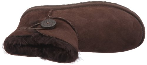 UGG Mini Bailey Button, Stivali Corti Donna Marrone (CHOCO)