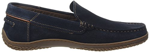 camel active St. Tropez 11 Herren Slipper Blau (Midnight)