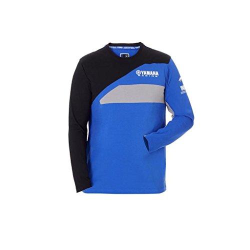 Yamaha - Camiseta manga larga Yamaha Factory Racing Team Moto GP camiseta oficial Paddock 2018