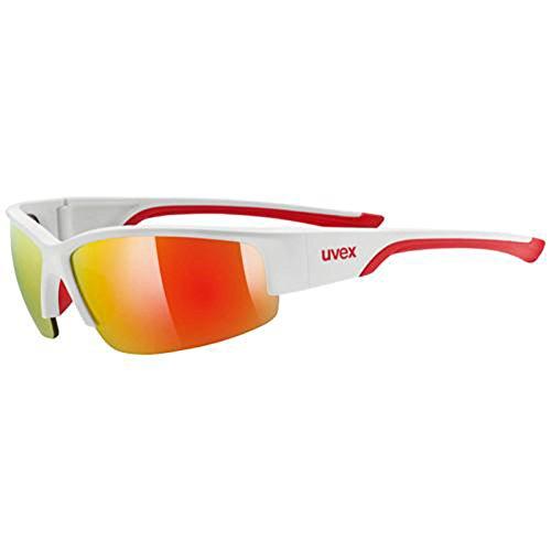 Gafas Ciclismo UVEX 215 Tricolor Sportstyle con Protección 100% Rayos UV y Filtro IR 2853br