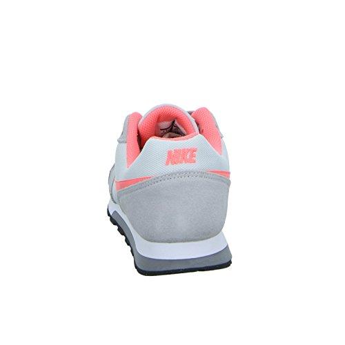 Nike Md Runner 2 (Gs), Chaussures de Tennis Fille Gris