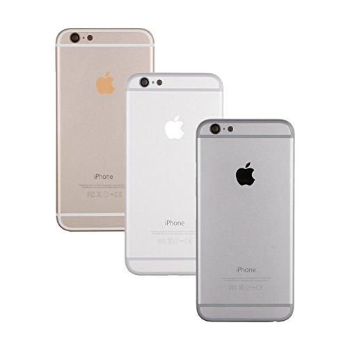 Gehäuse Backcover Akkudeckel für Apple iPhone 6 (Schwarz)