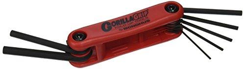 Bondhus 12592GorillaGrip Hex Spitze hochklappen Werkzeug mit Proguard Finish, 7Stück (Bondhus Gorilla Grip)