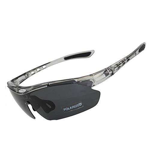 Daesar Motorrad Brille für Herren Sonnenbrille Grau Schutzbrille Schießsport
