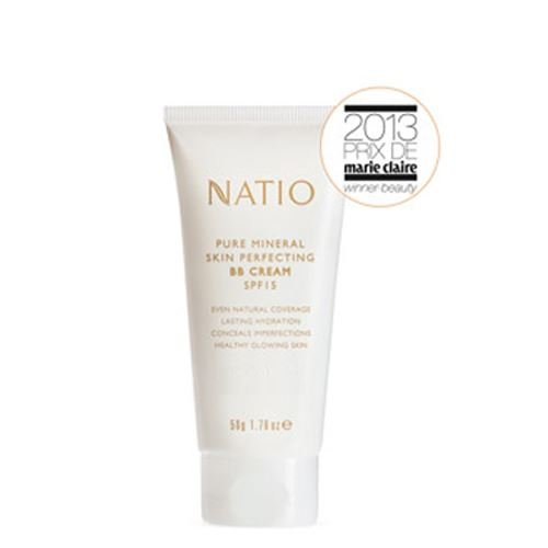 Natio Pure Mineral Skin Perfecting BB Cream SPF 15 Medium, 50g
