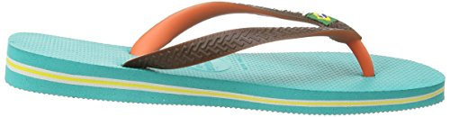 Havaianas Brasil Mix, Tongs homme Multicolore (Lake Green 1407)