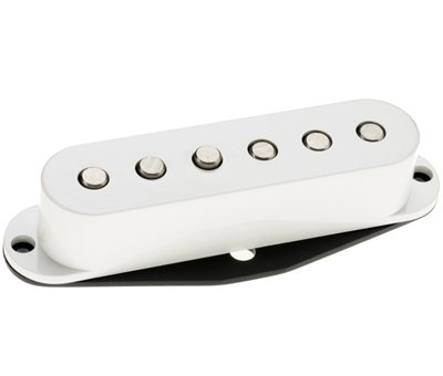 DIMARZIO dp408 W Vintage Virtual '54 Pro Single Coil Pickup blanco w/Bonus Ris Púas...