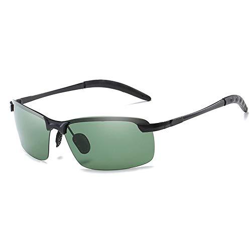 Polarisierte Sonnenbrille, Metall Rahmenlos Wahre Farbe Verbessertes Polarisiertes Licht Outdoor Sport Nachtsichtbrille
