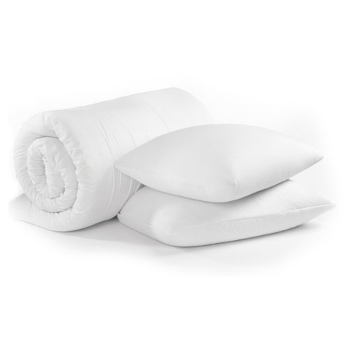 Dreamtime King size Memory Form Topper & Pillow set-bag