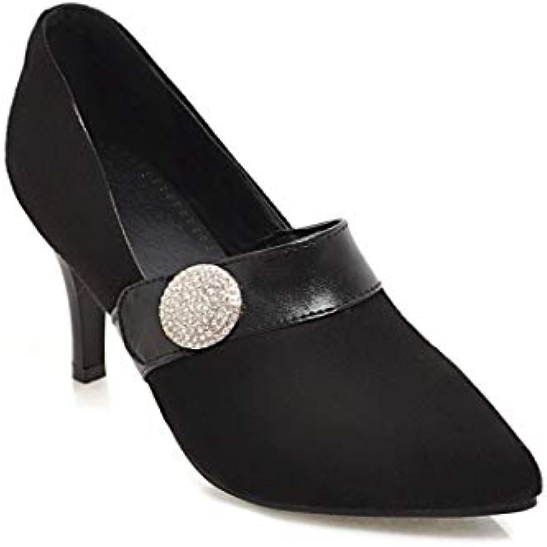 Wouomo Wouomo Wouomo Stiletto High Heels Pointed Toe scarpe | Conosciuto per la sua bellissima qualità  | Scolaro/Signora Scarpa  484d5a