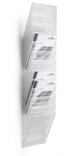Durable 1709763400 Prospektspenderset (Flexiboxx 12 A4) 1 Set transparent