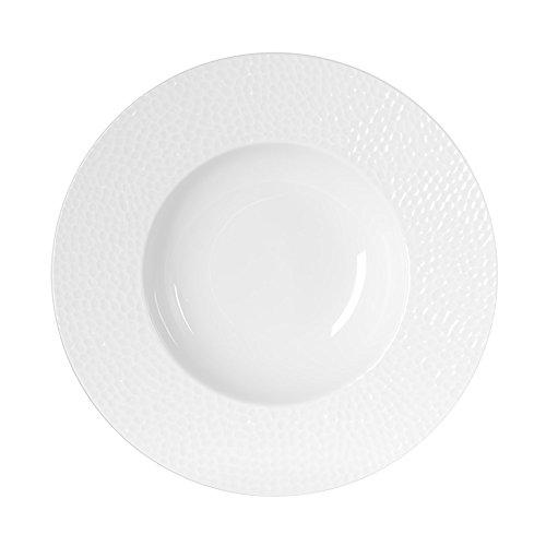 TABLE PASSION - ASSIETTE CREUSE 23 CM LOUNA (Lot de 6)