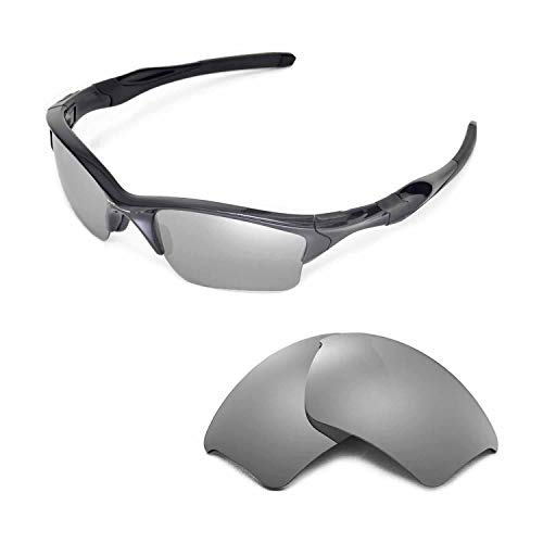33640627a0 Walleva Replacement Lenses Or Lenses/Rubber for Oakley Half Jacket 2.0 XL  Sunglasses - 41