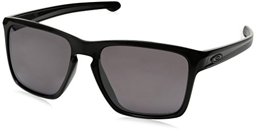 Oakley Mens Sliver XL Asian Fit Polarized Sunglasses, Polished Black/Prizm Daily, One Size