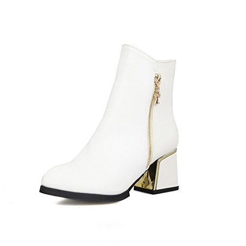 agoolar-womens-pointed-closed-toe-low-top-kitten-heels-solid-pu-boots-white-40