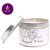 Bougie Parfumée Super Tata Parfum au choix Bougie Naturelle Cadeau Tata Cadeaux Noël Cadeaux Anniversaire Merci Baptême Communion Cadeaux Cadeaux Personnalisés