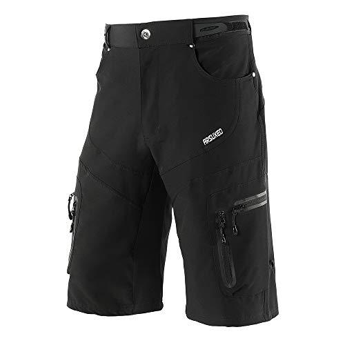 Lixada Pantalones Cortos Ciclismo Hombres Tipo Casual