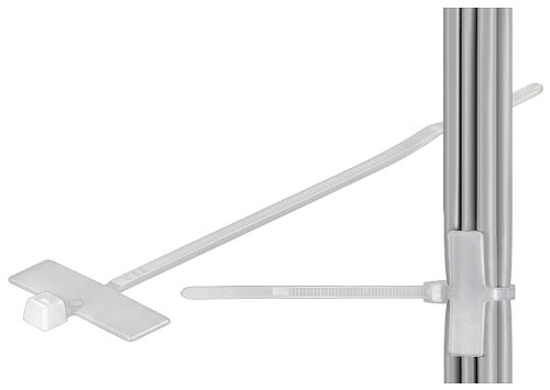 Preisvergleich Produktbild Wentronic Kabelbinder mit Beschriftungsfeld 100 mm (100 Stück)