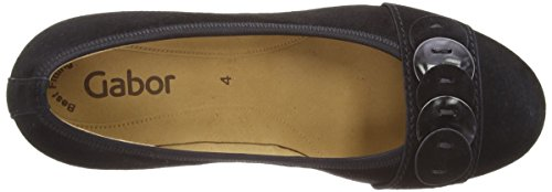 Gabor Goa Damen Pumps Schwarz (Black Suede)