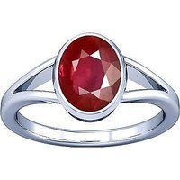 The Gallery Of Gemstone 7 Carat High Rated Quality Pink Ruby Adjustable Ring By Lab Certified