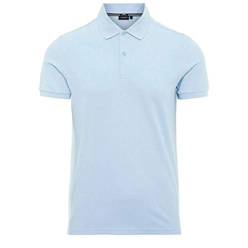 J. Lindeberg Poloshirt Troy Clean Pique Gr. XXL, Ice Flow - Herren-cutaway-kragen-shirt