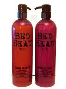 Bed Head Tigi Dumb Blonde Shampoo & Conditioner Duo 25.36oz Each Newest Packaging by Bed Head