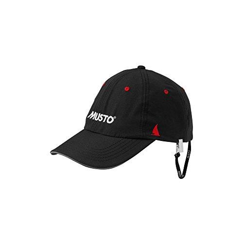 Musto Fast Dry Crew Cap in Black AL1390