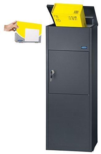Rottner T05781 Parcel Keeper 1000Boîte à lettres pour colis Noir
