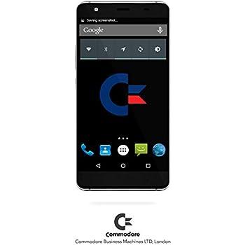 Smartphone Commodore LEO - Android - NERO, Display 5'', 16GB Memoria interna espandibile con MicroSD fino a 64GB, 2GB RAM, Fotocamera 16MP, Dual-SIM option