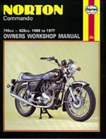 Preisvergleich Produktbild Haynes Handbuch 125Norton Commando 68–77