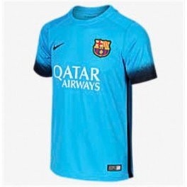 Nike FCB SS decept Stadium JSY – T-Shirt Unisexe, Couleur Bleu/Noir