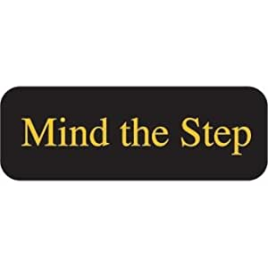 Winware – Mind The Step Sign