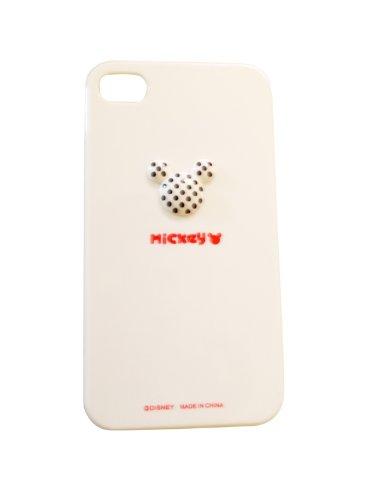Mickey Hardcase / Cover / Case / Hülle für Apple iPhone 4 / 4S - WHITE |Mickey Fall / Abdeckung für Iphone 4/4S - Wunderschön gestaltete liebenswert Mickey, Hartplastik-Etui / Abdeckung für Iphone 4/4S - White Farbe (Kitty 5 Hello Flip Galaxy Case)