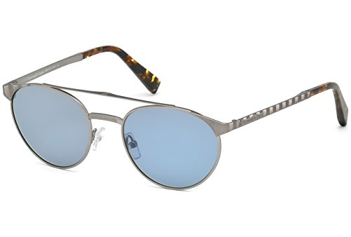 occhiali-da-sole-ermenegildo-zegna-ez0026-c52-15v-matte-light-ruthenium-blue
