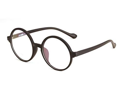 JSHFD Lesebrille Anti-Blaulicht Komfortables Anti-Ermüdungs-HD-Rundglas Anti-UV-Strahlung Anti-Betäubungs-Lesebrille Zum Senden von Geschenken for Älteste Unisex (Color : Black, Size : 3)