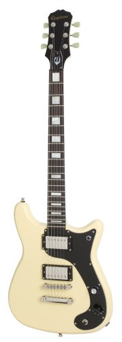 Epiphone ENW2AINH1 Wilshire Phant-o-matic Outfit E-Gitarre Antique Ivory (Akustik-volle Größe-gitarre)