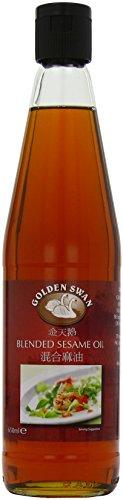 Golden Swan Blended Sesame Oil 650 ml (Pack of 2)