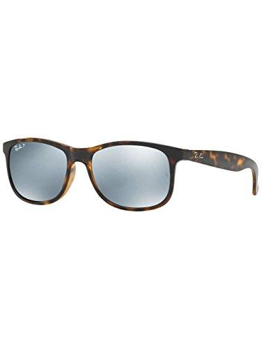 Ray-Ban Herren Sonnenbrille Andy Shiny Havanna - Sonnenbrille Ray-ban Andy